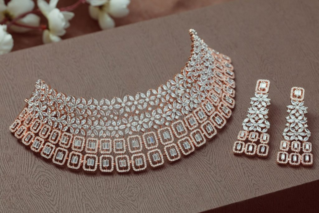 ethnic jewellery in low light